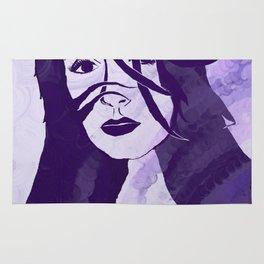 Purple Girl Rug