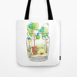 """Marshmallow"" Toasting Tote Bag"