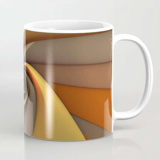 Tri-Gold Spiral Mug