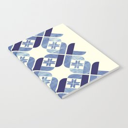 Nordic Blue Notebook