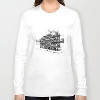 victorian Long Sleeve T-shirts featuring Victorian Building by CRNS