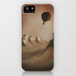 Around the world in 80 days by Jules Verne iPhone Case