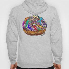 Human Donut Sprinkles Hoody