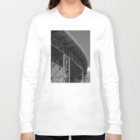 bridge Long Sleeve T-shirts featuring Bridge by Christophe Chiozzi