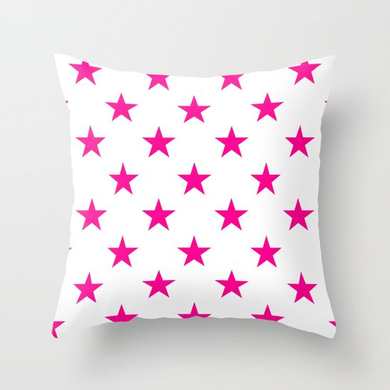 Stars (Magenta/White) by 10813apparel