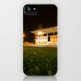 Bus and trainstation iPhone Case