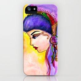 Gypsy Girl iPhone Case