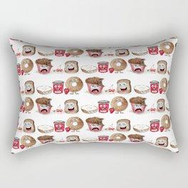 The Breakfast Brigade Rectangular Pillow