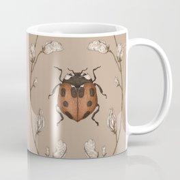 The Ladybug and Sweet Pea Coffee Mug