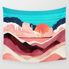 Sunset Desert Wall Tapestry