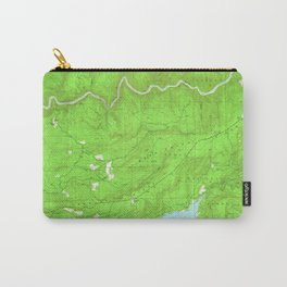 North Bloomfield, CA from 1949 Vintage Map - High Quality Carry-All Pouch