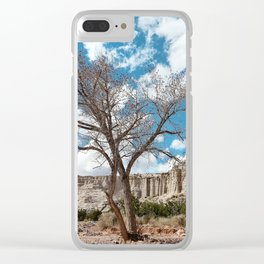 plaza blanca Clear iPhone Case