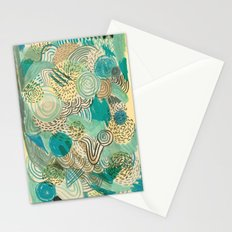 Holidays at the pool Stationery Cards