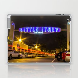 Little Italy (San Diego) Sign - SD Signs Series #5 Laptop & iPad Skin