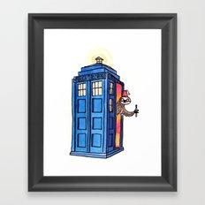 Dr Sloth  Framed Art Print