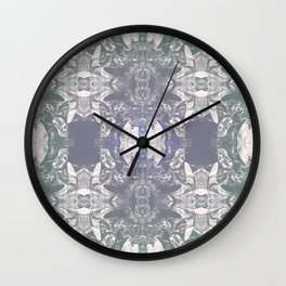 Feminine Mystique of Land and Sea Wall Clock