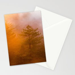 Trees by Zachary Domes Stationery Cards