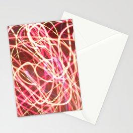 corazón luz Stationery Cards