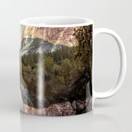 Mirrored Sunset Mountains Coffee Mug