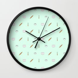 For My Favorite Baker Wall Clock