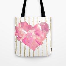 Je t'aime Light Pink Tote Bag