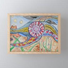 The Sea Beastie from Titan Framed Mini Art Print