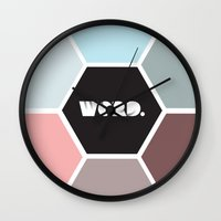word Wall Clocks featuring WORD. by skess