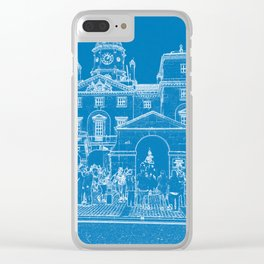 London Horse guards & Bus Clear iPhone Case
