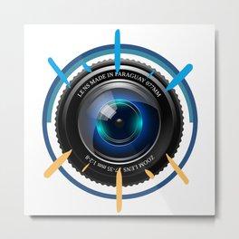 Photographer Gift | Photography Camera T-shirt Metal Print