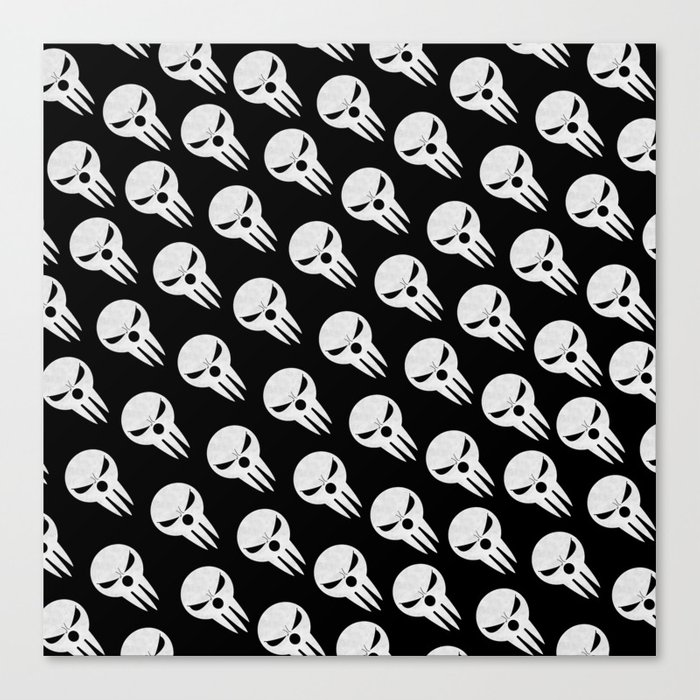 Soul Eater Lord Death Part 2 Canvas Print By Trixiemillercandy