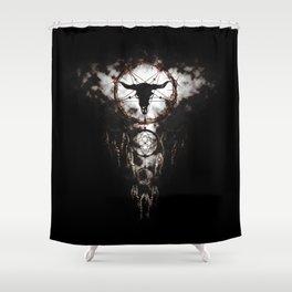 Dreamcatcher - Pentagram Shower Curtain