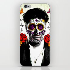 Musician Sugar Skull Painting iPhone & iPod Skin