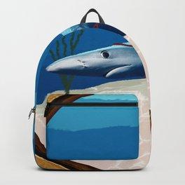 Walking The Shark Backpack