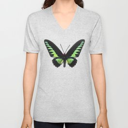 Rajah Brooke Birdwing Unisex V-Neck