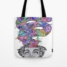 uninstalling my mind  Tote Bag
