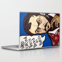 kubrick Laptop & iPad Skins featuring Kubrick by Hugo Maldonado
