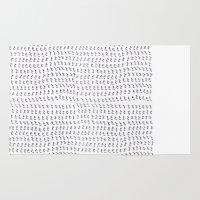 shit Area & Throw Rugs featuring shit by edoardo de falchi