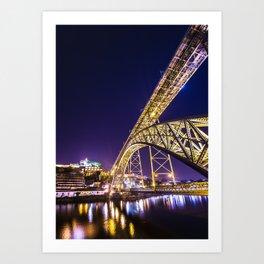 Luís I Bridge Porto Art Print