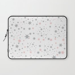 Stars silver and blush Laptop Sleeve