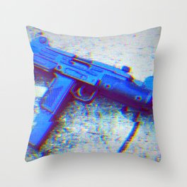 Uzi Throw Pillow