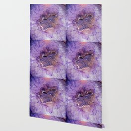 Amethyst Geode Wallpaper