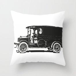 Old car 7 Throw Pillow