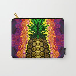 Psychedelic Pineapple Carry-All Pouch
