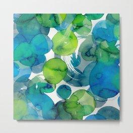 Sea of Glass Metal Print