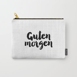 Good Morning Sunshine Bedroom Decor German Word Good Day German Language Carry-All Pouch