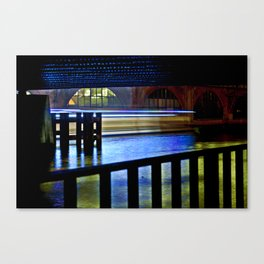 Nocturnal Floating Lights Canvas Print