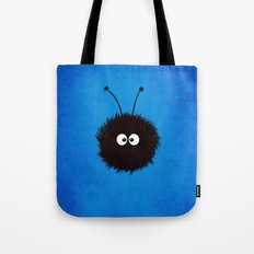 Blue Cute Dazzled Bug Tote Bag