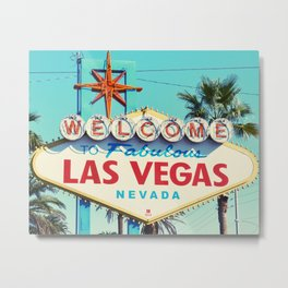 Las vegas, Minimal, USA, Interior, Wall art Art Metal Print