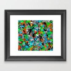 Painter Camo 1 Framed Art Print