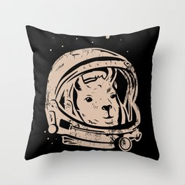 Astrollama Throw Pillow